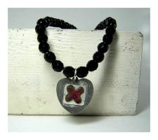 Do Not Disturb Heart Necklace by 925-STUDIO