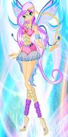 Winx: Symphony Queen Fairy of Lunix by DragonShinyFlame