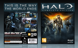 Halo: CE Boxart by iNimrod