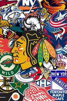 NHL background by SyntheticsArt