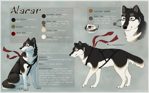 Alacar Reference Sheet by Skaralett