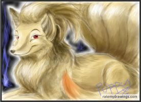Ninetails OLD by DragginCat