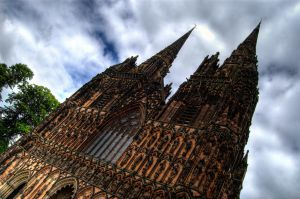 Cathedral Spires HDR by nat1874