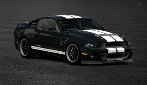 2013 Ford Mustang Shelby GT500 (Gran Turismo 6) by Vertualissimo