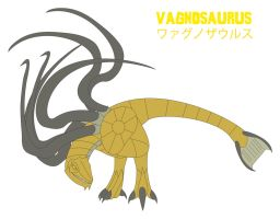 Godzilla Endgame - VAGNOSAURUS by Daizua123