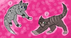 Cat Adoptables 7- CLOSED by CascadingSerenity