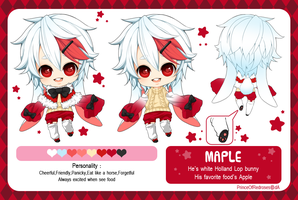 :OCs: Maple reference sheet by PrinceOfRedroses