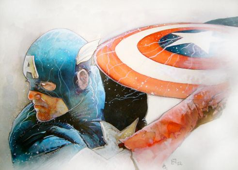 Captain America by henanff