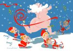 Santa Clause is coming to Town by selfishchildren