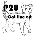 Pay to Use Cat Line Art by little-deity