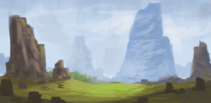 9 - Another generic grassy area by AJASC