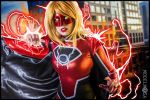 Red Lantern Supergirl Cosplay : PUNCH YOUR FACE by Khainsaw