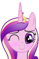 Princess Cadence Happy by AndreaSemiramis