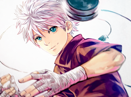 [HxH] Killua Zoldyck by i-Shinnie