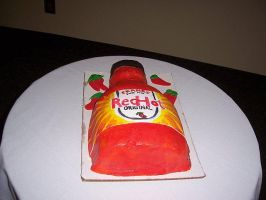 redhot hotsauce cake by perpetuousdreemr