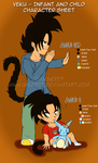 Child and Infant Veku - Character Sheet by Vegerot
