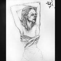 Pen and Ink Woman by asunder