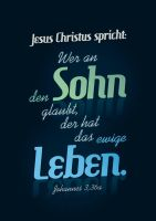 John 3:36a by Philipp-JC