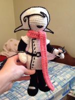 Mom Lalonde amigurumi by voided-knight