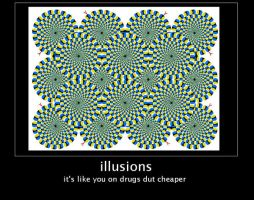 motivational poster:illusions by lott1616