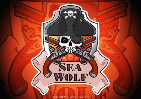 Sea Wolf Mascot Logo by TrexycaArtworks