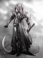 Sephiroth :God of War by teamsugoi1