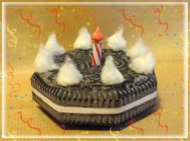 Paper Oreo Cake by Lyrin-83