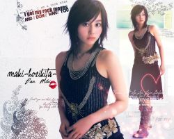wallpaper maki-horikita- by AkashaMc