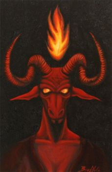 Baphomet by nbrazzola