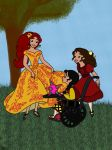 DTMC: Princess Elena (of Avalor) with friends by whitefire33