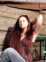 My crazy hair color - 02 by WilhelminaH