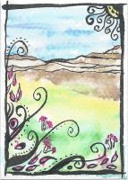 076 ATC ACEO untitled by RowanWatersprite
