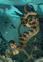Field Study: Slither in the Water by ebonydragon
