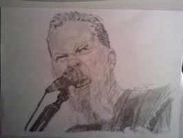 James Hetfield by Daraxe