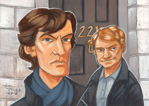 Sherlock by danidraws