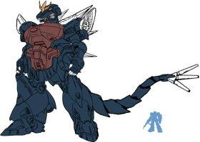 Mecha Space Godzilla II by dracostarcloud