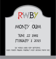 RIP Monty Oum by Gray-Vizard