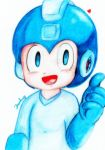 young Megaman! by Pamhay