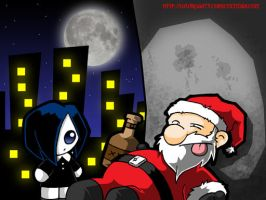Santa, the rest of the year... by Carlos-the-G