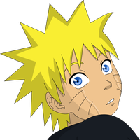 Little Naruto Crying Color by PrinzessinVegeta