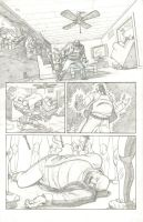 Luke Cage Page 3 by mistermuck