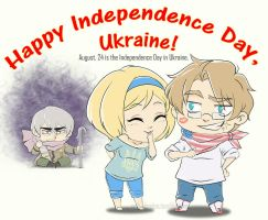 Happy Independence Day by APH-Ukraina