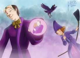 Day of the sorcerers - Cedric's good choice by Gini-Gini