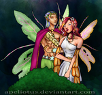 Zantarni: February Faeries by Apeliotus