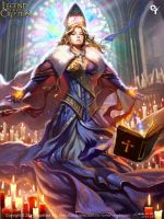 (Ataxia) Revered Oracle Milleon by liangxinxin
