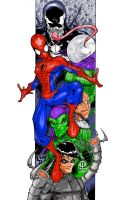 Spidey and Villians by Comicfanatic83