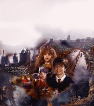 Harry Potter and the Sorcerer by BlackSai1s