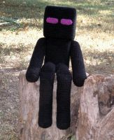 Enderman Shelf Sitter by W0IfDreamer