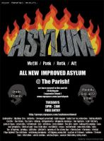 Asylum -  Fly Poster '07 by steeyre