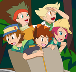 Gary Oak Crew/Rival Crew Rap (Lyrics) by Karasu-96